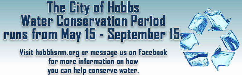 water conservation period